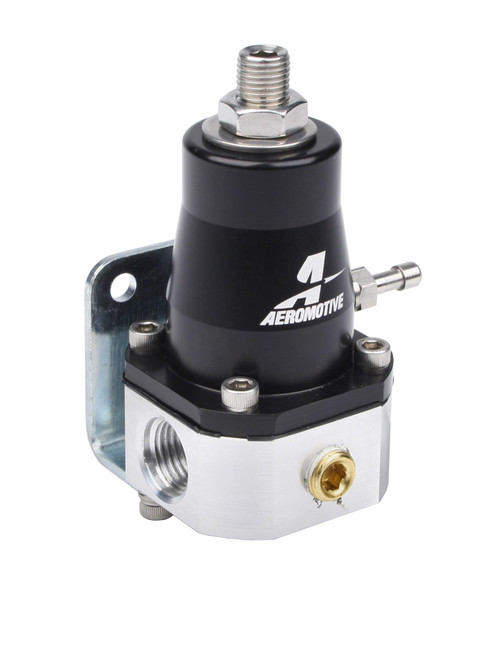 SPEC EFI FUEL PRESSURE REGULATOR W/ STAINLESS MOUNT BRKT