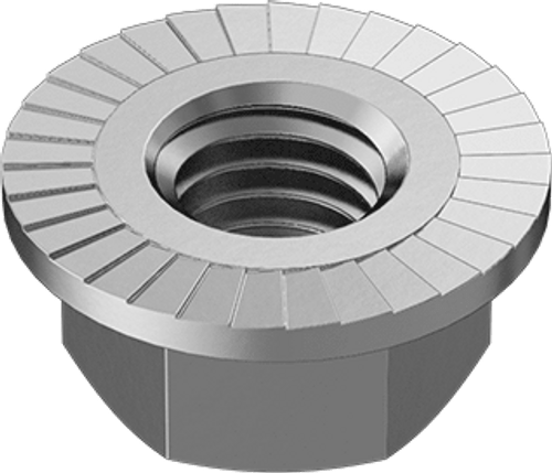 18. FLANGE NUT M10 STAINLESS