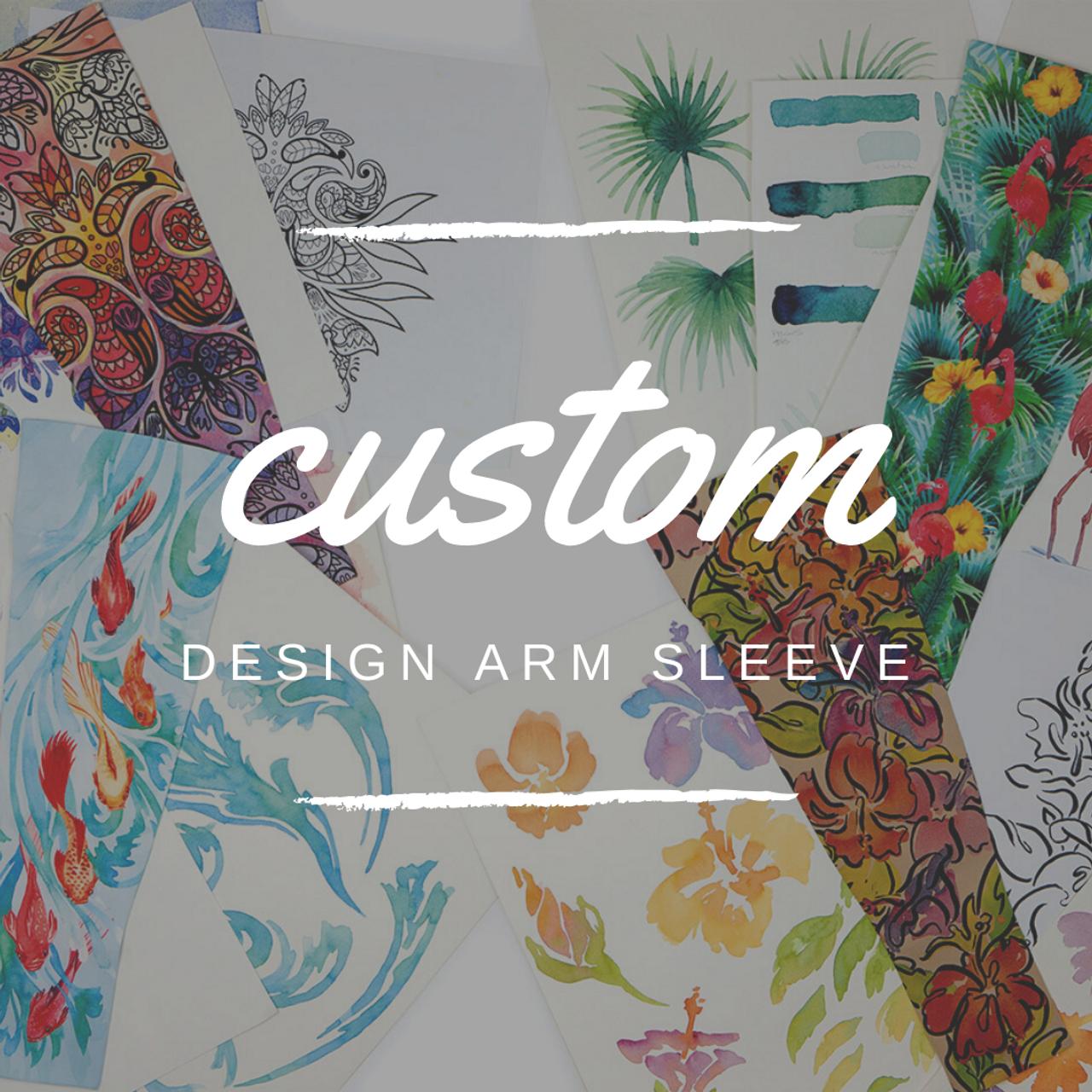 Custom Design Arm Sleeve