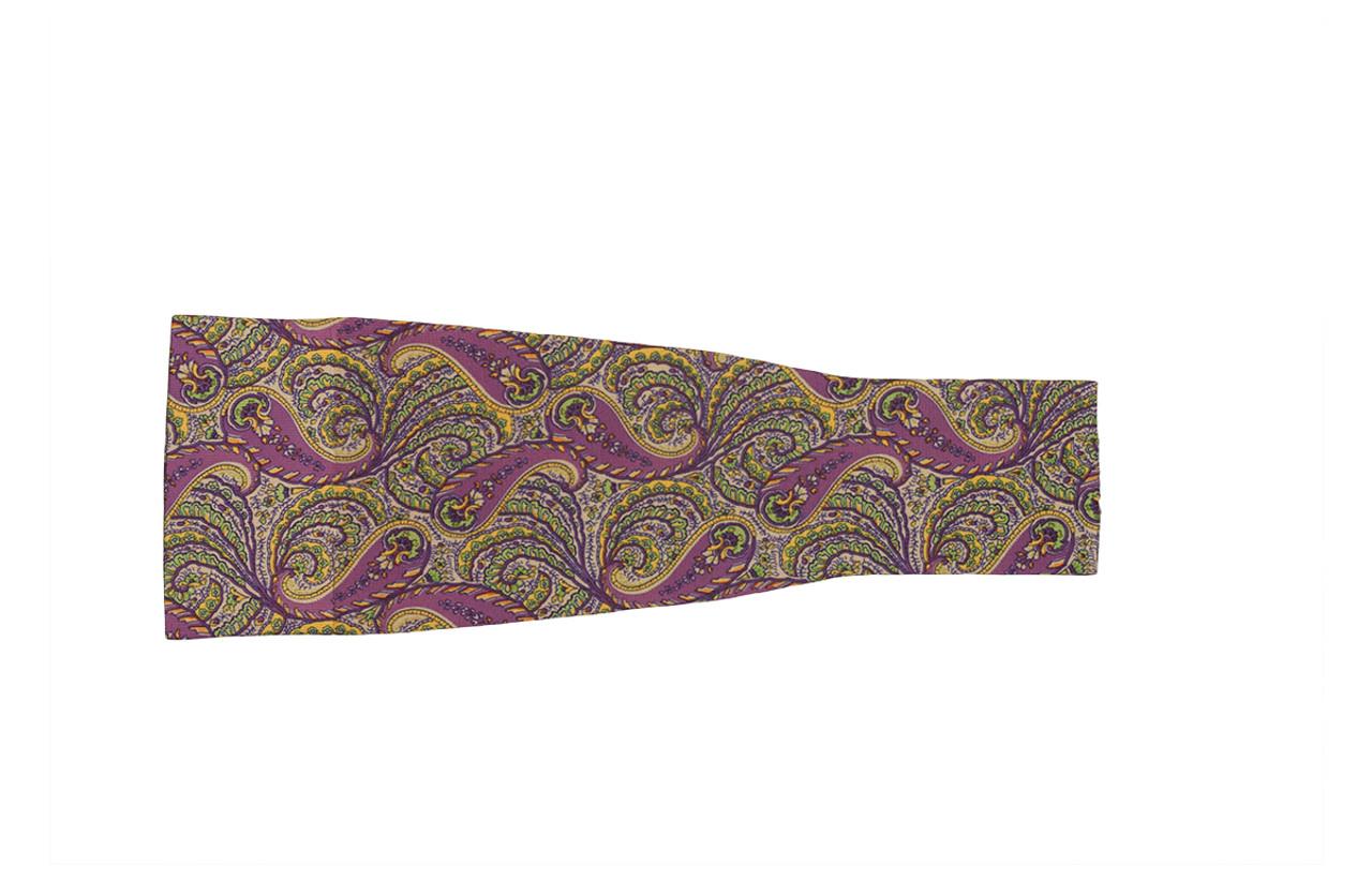 Purple Paisley Arm Sleeve