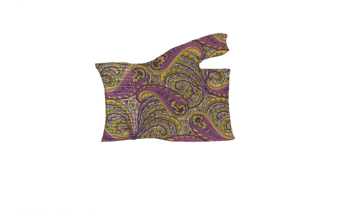 Purple Paisley Gauntlet