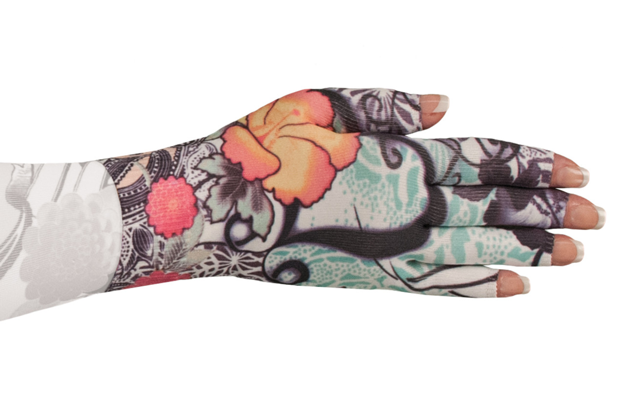 Tattoo Blossom Glove