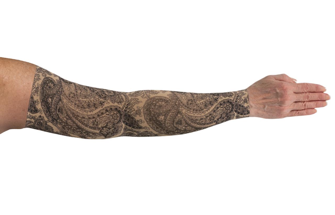 2nd Black Paisley Arm Sleeve