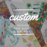 Custom Design Arm Sleeve & Gauntlet