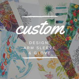 Custom Design Arm Sleeve & Glove