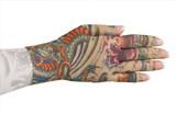 Lotus Dragon Tattoo Glove
