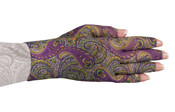 Purple Paisley Glove