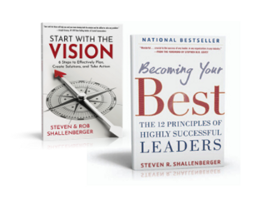 Two Book Bundle - Start With The Vision & Becoming Your Best
