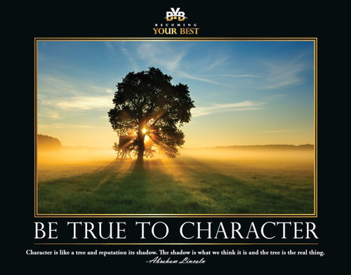Be True to Character - Sunrise Meadow