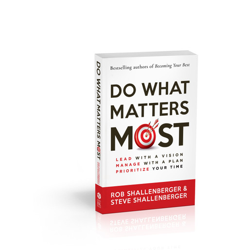 PRE-ORDER ON AMAZON:  https://www.amazon.com/Do-What-Matters-Most-Prioritize/dp/1523092572/ref=sr_1_5?dchild=1&keywords=do+what+matters+most&qid=1610473725&sr=8-5  In our research of more than 1,260 managers, we found that 68% feel their biggest challenge is how to prioritize their time. Despite endless to-do lists and strict schedules, 80% of those same people do not have a process to do what matters most. This book covers the three highest performance habits you (and your team, organization, or family) can use to prioritize time, increase performance and productivity, and truly accomplish What Matters Most.  Research shows that these skills effectively resolve task saturation, relieve cognitive load, reduce stress, provide clear focus, establish work-life balance, and improve performance and productivity by 30-50% on average. Want to achieve 30-50% more in work and life? Want to achieve more with life balance and less stress? Put to practice the 3 habits found in this book.   CLICK HERE TO PRE-ORDER ON AMAZON