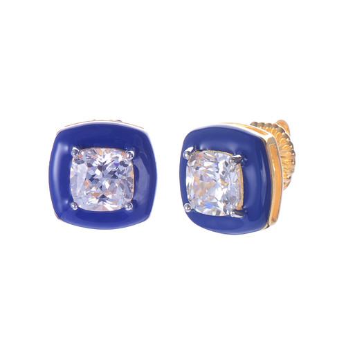 Blue Enamel / Gold