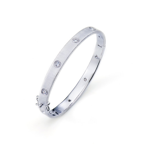Skinny Bazel-set Engrave Bangle