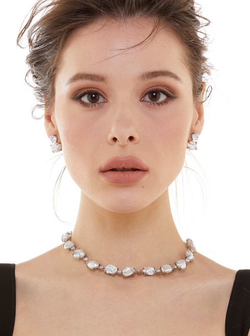 Cultured Keishi Pearl Necklace
