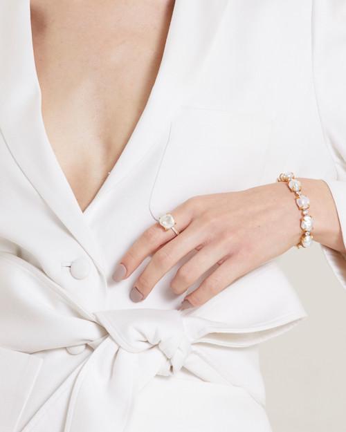 Keishi Pearl Vermeil Ring