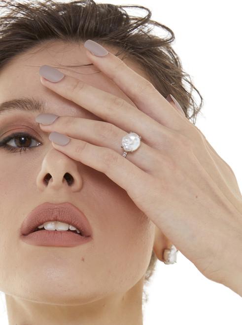 Keishi Pearl Ring