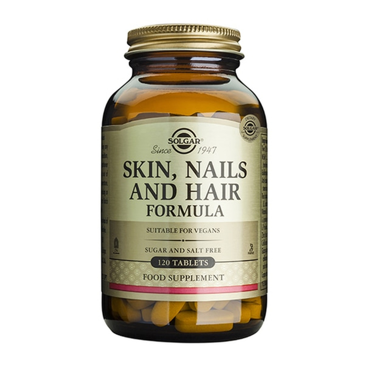 Solgar Skin, Nails & Hair 120 Tablets NZ