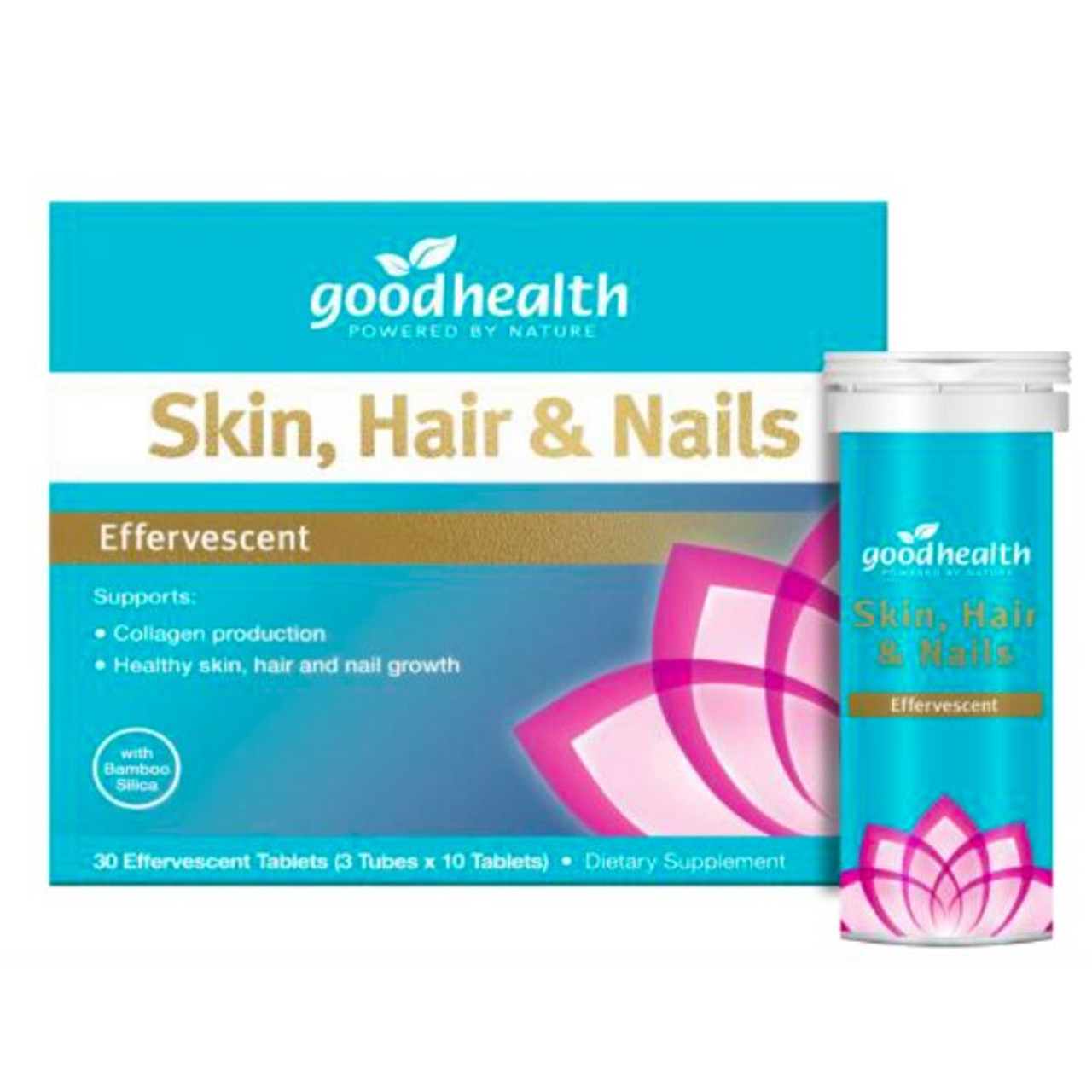 Good Health Skin, Hair and Nails - 30 Effervescent Tablets