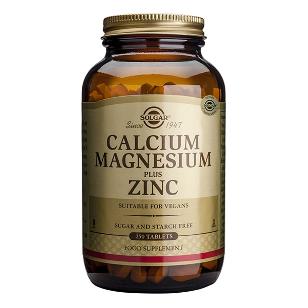 Calcium Magnesium Plus Zinc 250 Tablets NZ