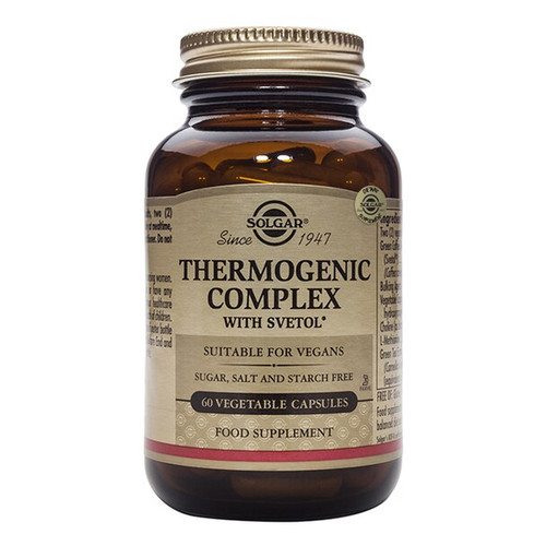 Solgar Thermogenic Complex with Svetol 60 Vege Tablets NZ