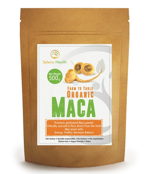 Seleno Health Authentic Peruvian Organic Maca NZ