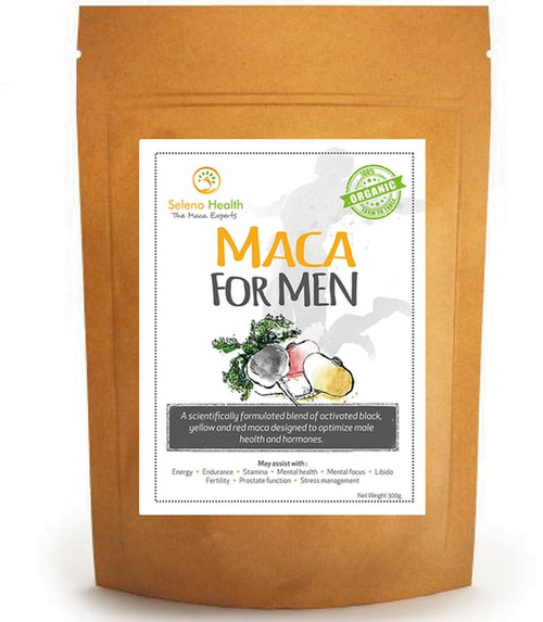 Maca for Men (Organic & Gelatinised) – Superfood 300g NZ