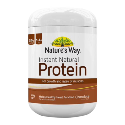 Nature's Way Instant Natural Protein - Chocolate 375g