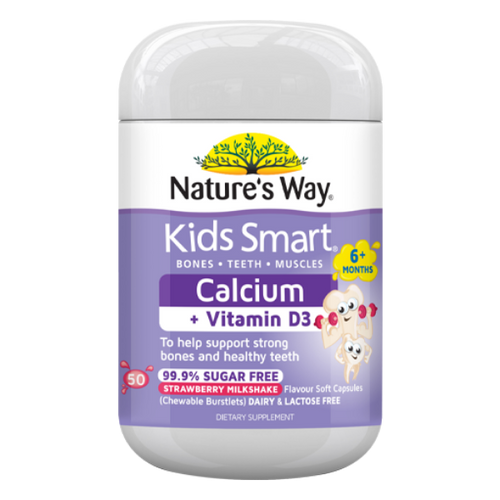 Nature's Way Kids Smart Kids Smart Calcium + D3 NZ