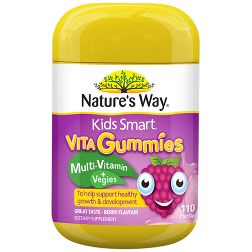 Nature's Way Kids Smart Vita Gummies Multi Vitamin + Vegies NZ