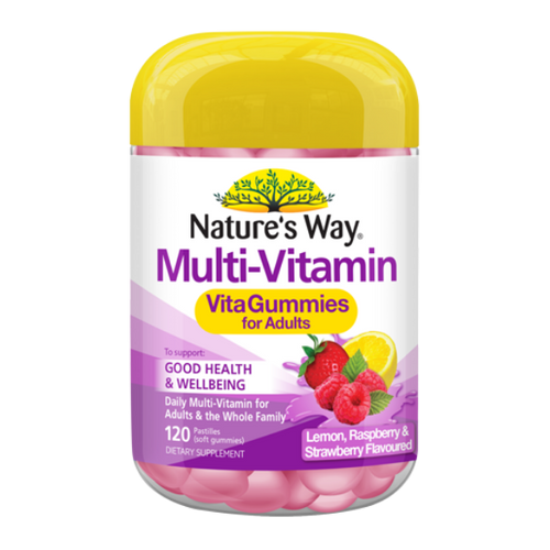 Nature's Way Adult Vita Gummies Multi Vitamin 120's NZ