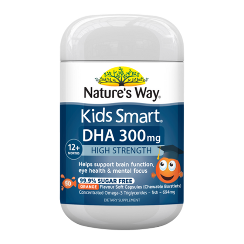 Nature's Way Kids Smart High DHA 300mg NZ