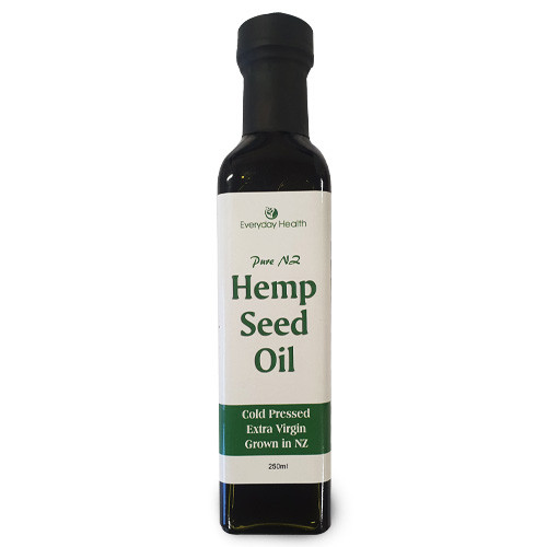 Hemp Seed Oil 250ml New Zealand