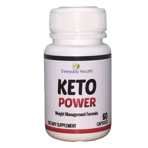 Everyday Health Keto Power (with BHB Ketones) - 60 Capsules