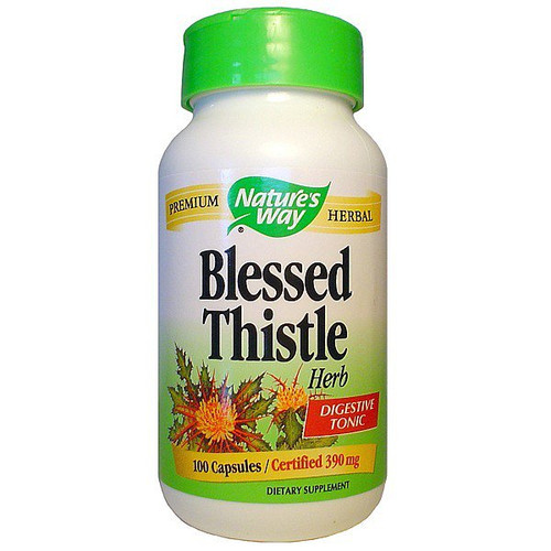 Nature's Way Blessed Thistle 390mg NZ