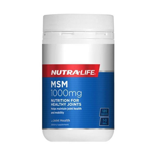 Nutra-Life MSM 1000mg joint skin and hair support NZ
