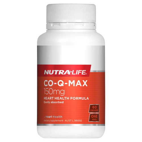 Nutra-Life Co-Q Max - Heart Health Support