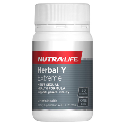 Nutra-Life Herbal Y - Sexual Health for Men NZ