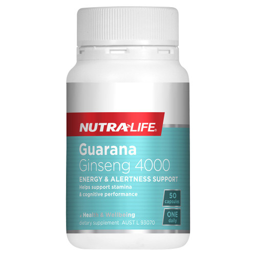 Nutra-Life Guarana Ginseng 4000 NZ