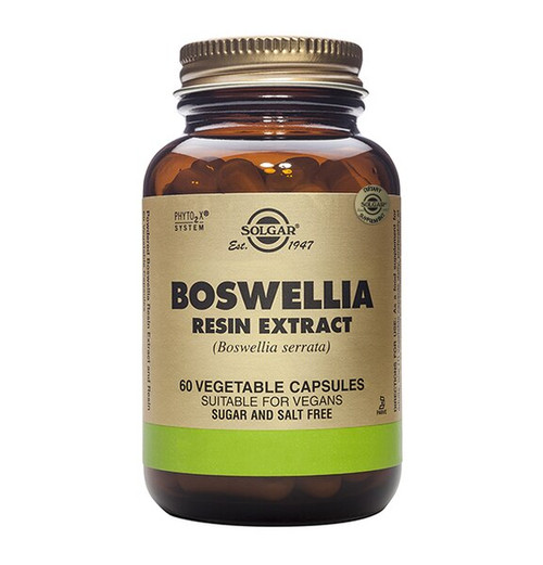 Solgar Boswellia Resin Extract (Full Potency) - 60 Vege Capsules
