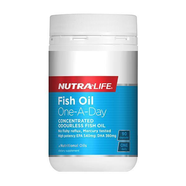 Nutra-Life Fish Oil One-A-Day - High Potency