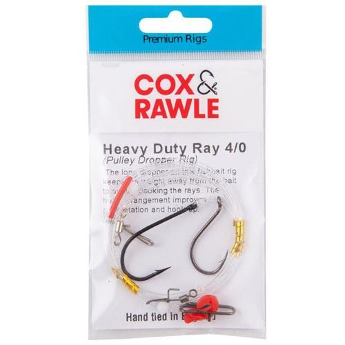 Cox & Rawle Heavy Duty Ray Rig (Pulley Dropper Rig) #4/0