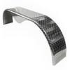 72x10-3/4 Tandem Axle Aluminum Tread Plate Trailer Fender angle view