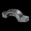 "Silver Plastic Trailer Fender - 12"" Tire Size - One Fender - 008592"