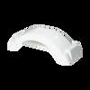 """White Plastic Trailer Fender - 8""""-12"""" Tire Size - One Fender - 008549"""