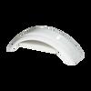"""White Plastic Trailer Fender - 8""""-12"""" Tire Size - One Fender - 008540"""