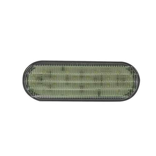 """LED 6"""" Oval Clear Submersible Trailer Reverse Light -  Wires not Included"""