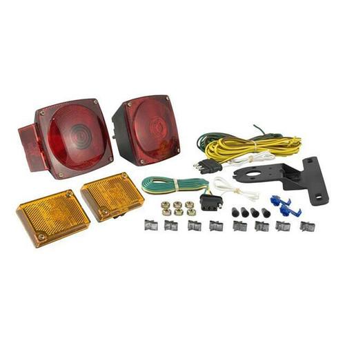 Trailer Light Kit- Incl. 20 ft. Wiring Harness- Metallic Base