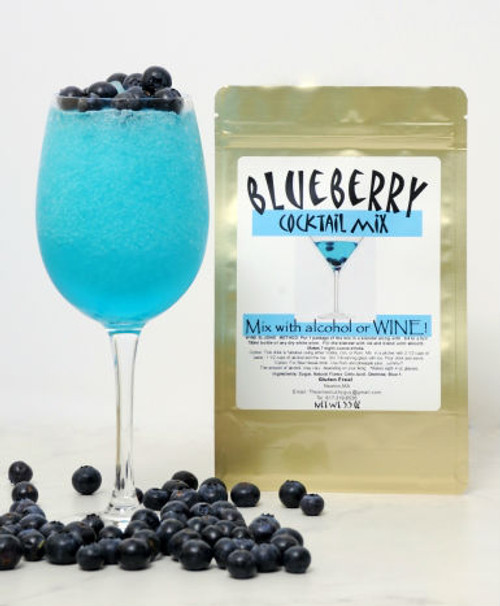 Blueberry wine slush mix