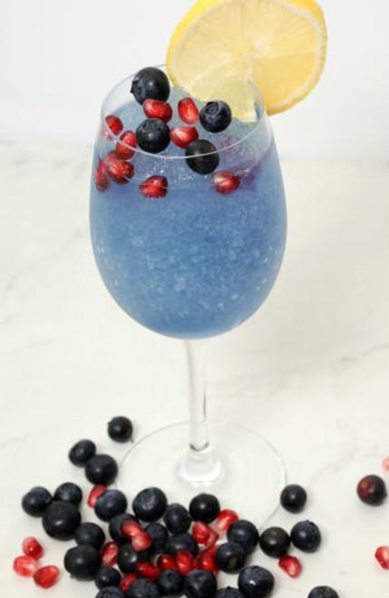 Blueberry-Pomegranate wine slush mix