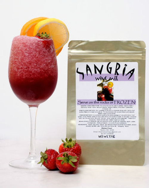 Sangria wine slush mix
