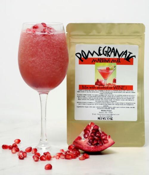 Pomegranate wine slush mix